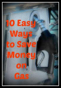 10 easy ways to save on gas