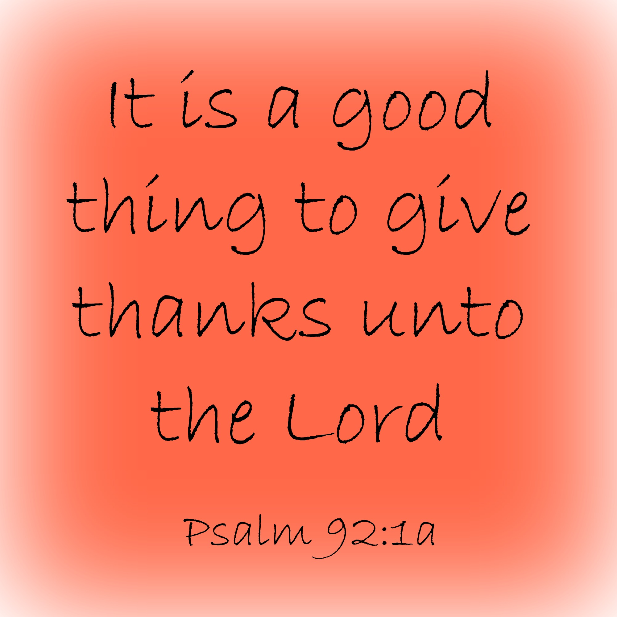 Giving Thanks– 30 Things I am thankful for!