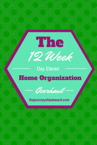 The12 Week Home Organization Overhaul Day 11