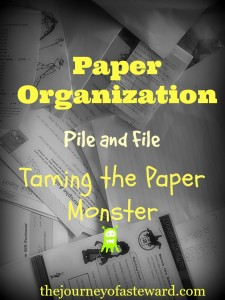 pile and file