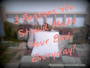 3 reason to make your bed everyday