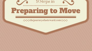 9 Steps in Preparing to Move