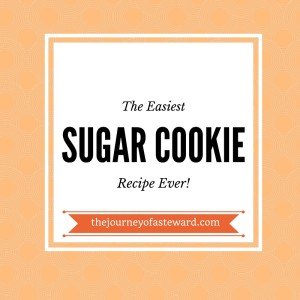The Easiest Sugar Cookie Recipe Ever!