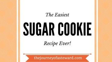 The Easiest Sugar Cookie Recipe Ever