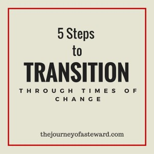 Transition through Change
