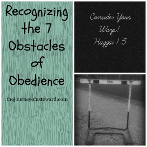 Recognizing the 7 Obstacles of Disobedience