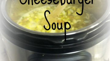 Tasty THM Cheeseburger Soup Recipe