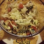 Homemade Salsa Made with Cabbage
