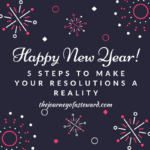 5 Steps to Make Your Resolutions a Reality